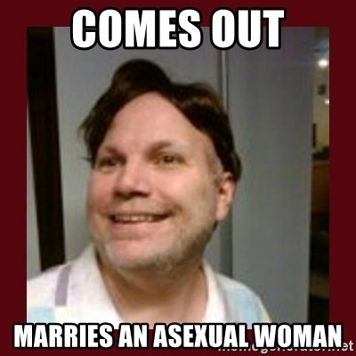 Free Speech Whatley - comes out marries an asexual woman