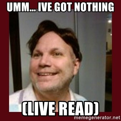 Free Speech Whatley - umm... ive got nothing (live read)