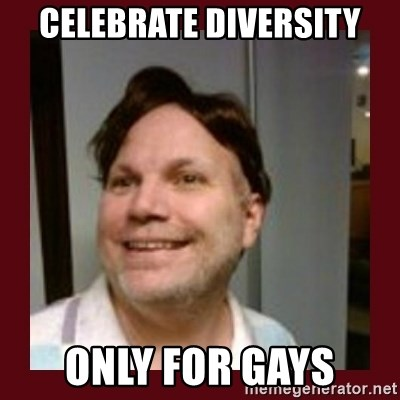 Free Speech Whatley - celebrate diversity only for gays
