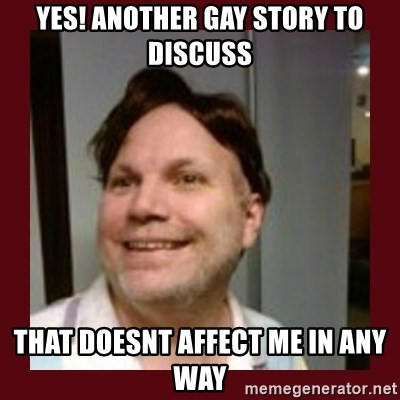 Free Speech Whatley - yes! another gay story to discuss that doesnt affect me in any way