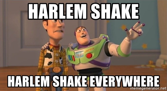 ORIGINAL TOY STORY - Harlem shake harlem shake everywhere