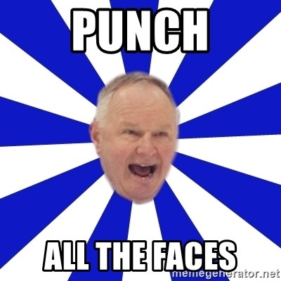 Crafty Randy - punch all the faces