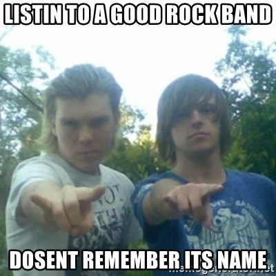 god of punk rock - listin to a good rock band dosent remember its name