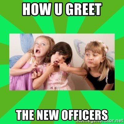 CARO EMERALD, WALDECK AND MISS 600 - HOW U GREET THE NEW OFFICERS