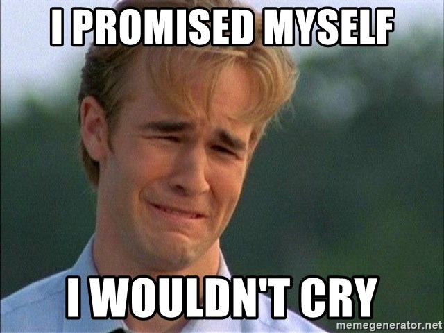 Dawson Crying - I promised myself i wouldn't cry