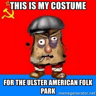 Malorashka-Soviet - THIS IS MY COSTUME FOR THE ULSTER AMERICAN FOLK PARK