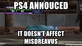MISDREAVUS - ps4 annouced it doesn't affect misdreavus
