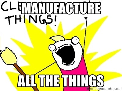 clean all the things - MANUFACTURE ALL THE THINGS