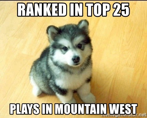 Baby Courage Wolf - Ranked in top 25  plays in mountain west