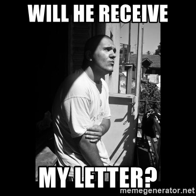 Luka Car - will he receive my letter?