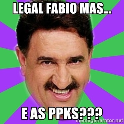 Ratinho - legal fabio mas... e as ppks???