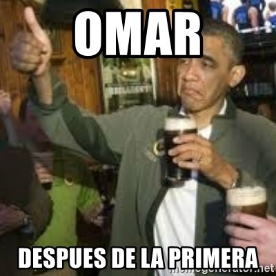 obama beer - OMAR DESPUES DE LA PRIMERA