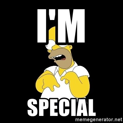 look-marge - I'M  SPECIAL