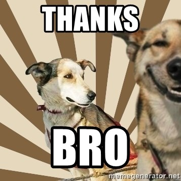 Stoner dogs concerned friend - THANKS  BRO
