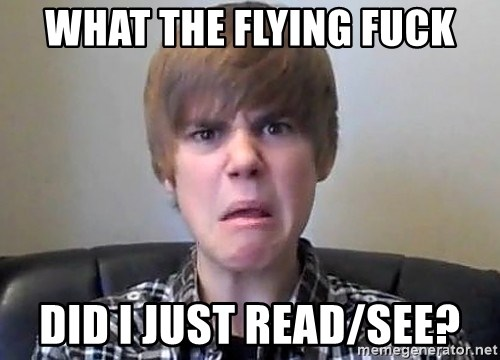 Justin Bieber 213 - What the fLying fuck Did I jUst read/see?