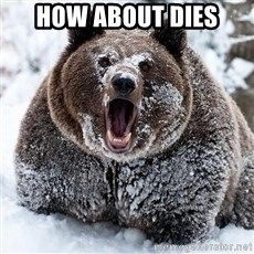 Cocaine Bear - HOW ABOUT DIES