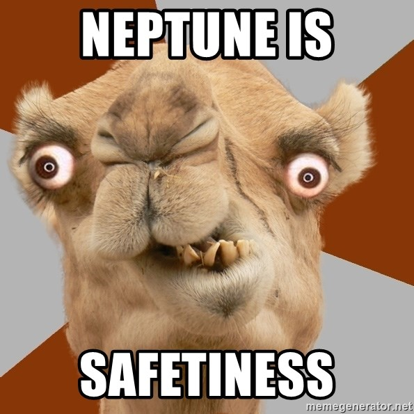 Crazy Camel lol - Neptune IS safetiness