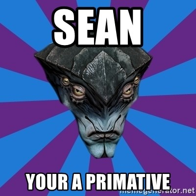 Javik the Prothean - SEAN Your a primative