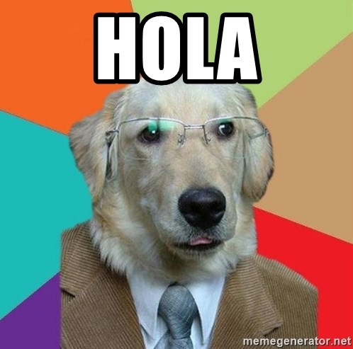 Business Dog - hola