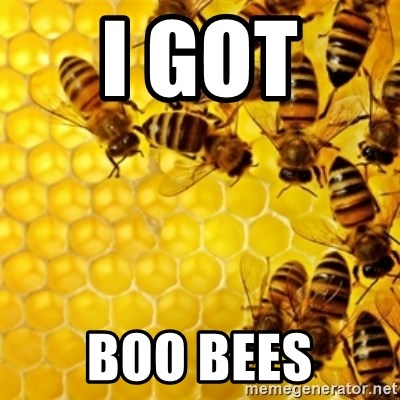 Honeybees - i got  boo bees