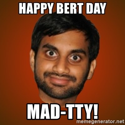 Generic Indian Guy - HAPPY BERT DAY MAD-TTY!