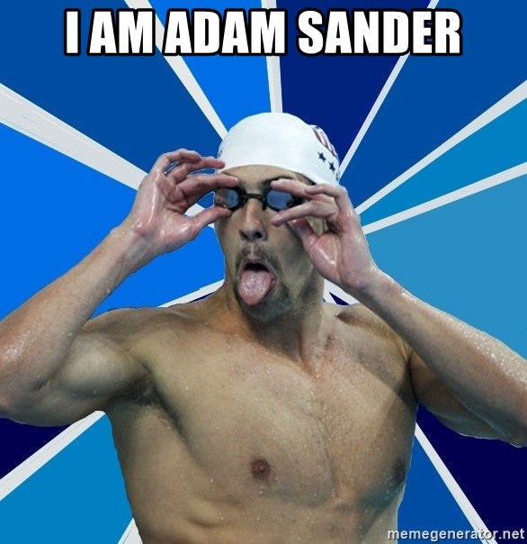 Ordinary swimmer - I AM ADAM SANDER