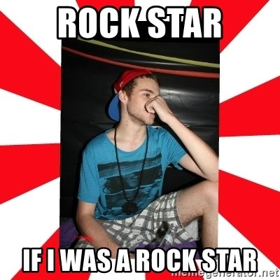 Raurie Brown - ROCK STAR IF I WAS A ROCK STAR