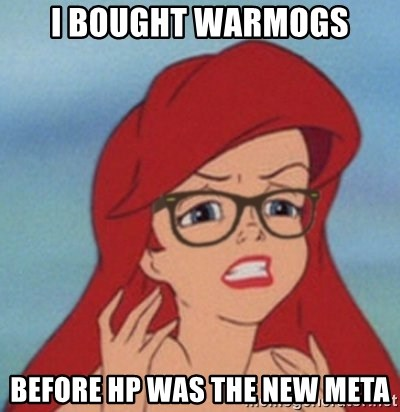 Hipster Mermaid - I bought warmogs before hp was the new meta