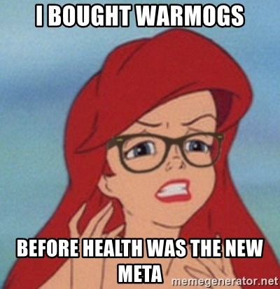Hipster Mermaid - i bought warmogs before health was the new meta