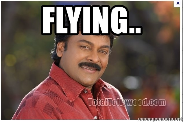 Typical Indian guy - FLYING..