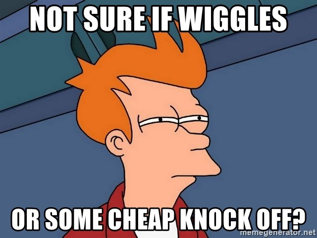 Futurama Fry - Not sure if Wiggles or some cheap knock off?