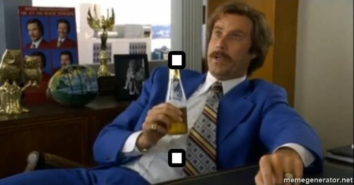 That escalated quickly-Ron Burgundy - . .