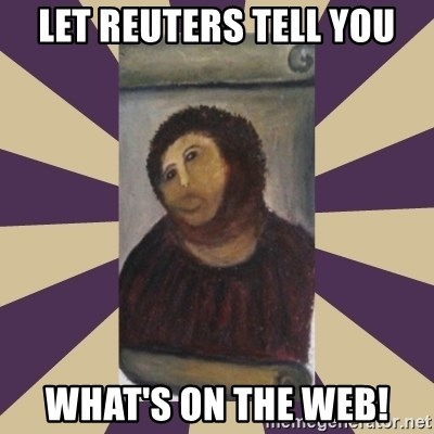 Retouched Ecce Homo - let reuters tell you what's on the web!