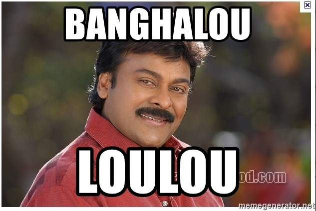 Typical Indian guy - Banghalou loulou