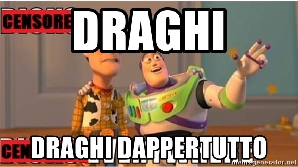 Toy Story Everywhere - Draghi Draghi dappertutto