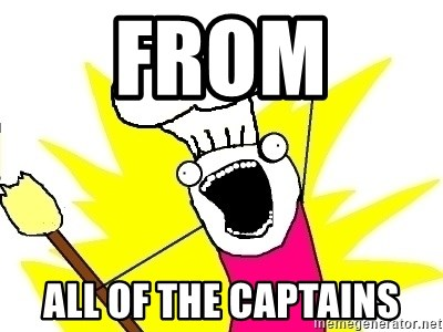 BAKE ALL OF THE THINGS! - From  All of the captains