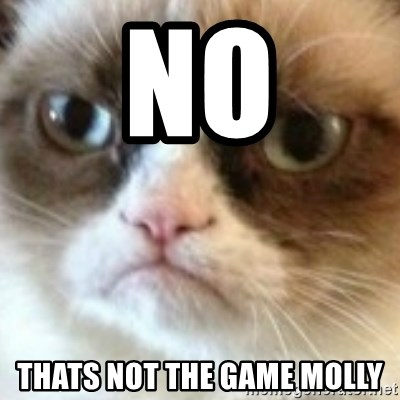 angry cat asshole - No thats not the game Molly