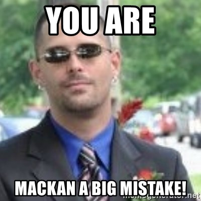 ButtHurt Sean - You are mackan a big mistake!