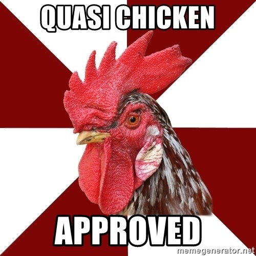 Roleplaying Rooster - Quasi chicken Approved