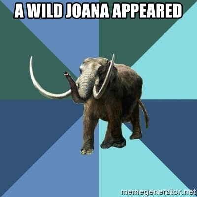 Misogyny Mastodon - A WILD JOANA APPEARED