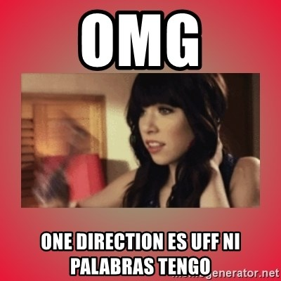 Call Me Maybe Girl - OMG ONE DIRECTION ES UFF NI PALABRAS TENGO