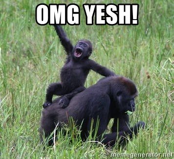 Happy Gorilla - OMG YESH!