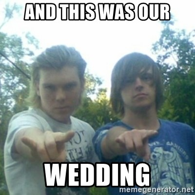 god of punk rock - AND THIS WAS OUR WEDDING