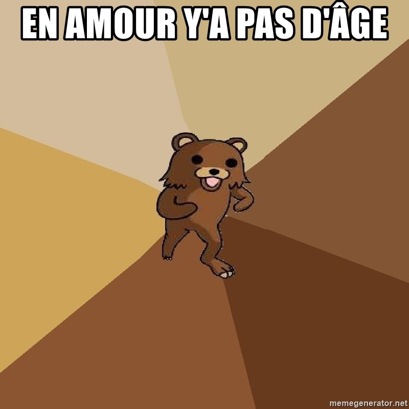 Pedo Bear From Beyond - EN AMOUR Y'A PAS D'ÂGE
