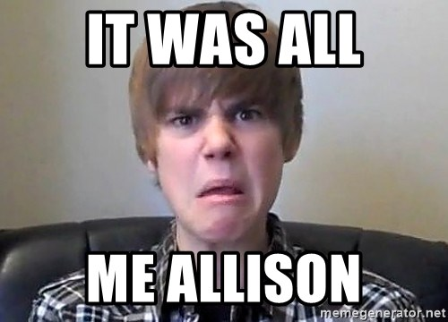 Justin Bieber 213 - it was all me allison
