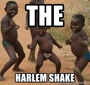african children dancing - THE HARLEM SHAKE
