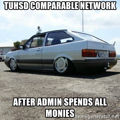 treiquilimei - tuhsd comparable network  after admin spends all monies