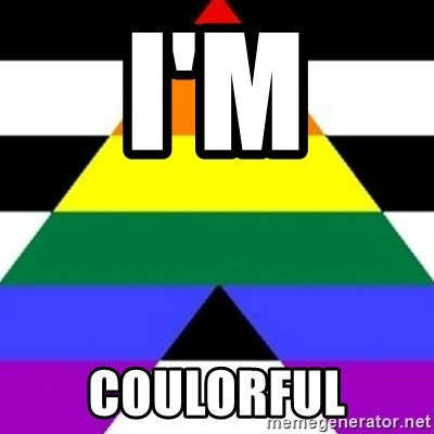 Bad Straight Ally - I'M  COULORFUL