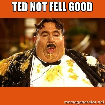 Fat Guy - TED NOT FELL GOOD