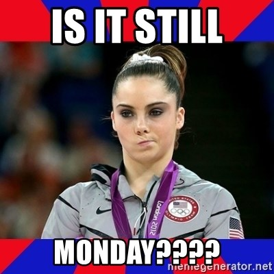 Mckayla Maroney Does Not Approve - Is it still monday????